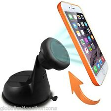 Rotary Magnetic Support Car Windshield Dashboard Mount Holder For iPhone 6 5S 5