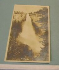 1905 Era Nevada Falls Yosemite National Park California RPPC Real Photo Postcard