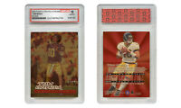 Polychrome Refractor Gold TOM BRADY 2000 FLEER ULTRA ROOKIE CARD - GEM MINT 10