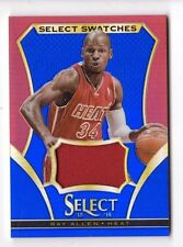 RAY ALLEN NBA 2013-14 SELECT SWATCHES PRIZMS BLUE #/49 (HEAT,CELTICS,SONICS,BUCK