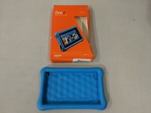 Amazon Kid-Proof Case Amazon Fire 7 Tablet 7th Generation 2017 Release Blue USED