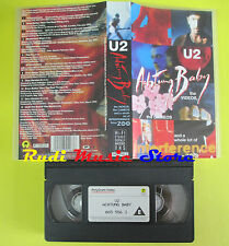VHS U2 Achtung baby 1992 ISLAND 085 556-3 BONO VOX no cd lp dvd mc(VM6)