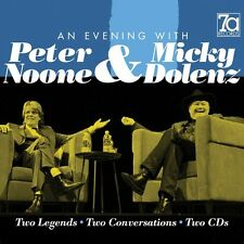 an Evening With 2cd Incl. Booklet The Monke Peter Noone & Micky Dolenz CD