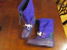 Sorel Women's 5 purple Pac Snow Winter Boots Freestyle Canada liners