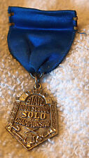VINT STERLING SILVER OHIO STATE HIGH SCHOOL BAND SOLO CHAMPIONSHIP MEDAL/RIBBON