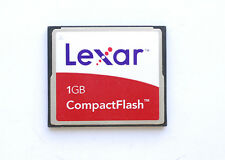 Scheda di memoria LEXAR Compact flash CF 1GB per fotocamera digitale Memory Card