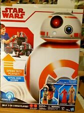 STAR WARS HASBRO BB8 PLAYSET WITH EXCLUSIVE TWO ACTION FIGURES,  IT'S HUGE!