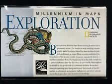 💎NATIONAL GEOGRAPHIC INSERT :  EXPLORATIONFEB1998💎
