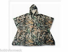 REALTREE APG CAMO CAMOUFLAGE PONCHO WATERPROOF ONE SIZE HUNTING FISHING