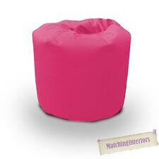 Pink Cotton Bean Bag Children's Kids Beanbag Seat Play Room Furniture Chair