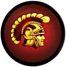 Round Greek TROJAN HELMET SHIELD - sca/larp/medieval/painting/wooden/armor - USC