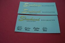 """Vintage Guitar  Waterslide Decals 50's 60's 70's  """"THE BEST OUT THERE""""  One (1)"""