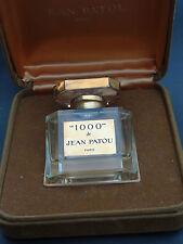 1000 Jean Patou Paris in Original BOX Vintage Antique Baccarat Bottle Flacon