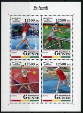GUINEA 2018 TENNIS SHEET MINT NH