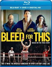 PRE  ORDER: BLEED FOR THIS - BLU RAY - Region free - Sealed