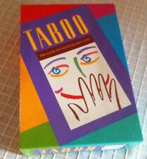 Vintage 1993 Version Taboo Game MB Games Fun Collectible Excellent Condition