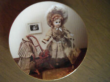 """""""Lucille circa 1891"""" Yesteryears Doll Museum Gorham Collector Plate"""