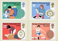 GB 1981 PHQ Cards Mint Set~Dukes Award~(4)~PHQ-54~UK Seller