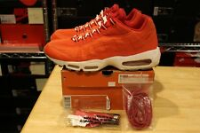 Nike Air Max 95 Powerwall Engine Red 314198 661 Size 10.5 Patta 1 90 Jordan Lot