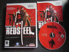 NINTENDO Wii GAME RED STEEL LOT 2