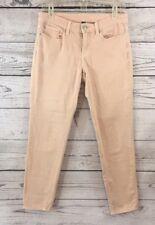 GAP Size 6 Super Skinny Ankle Jeans Muted Pink Pastel Denim Stretch Premium