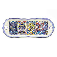 Hand Painted Traditional Portuguese Ceramic Decorative Platter