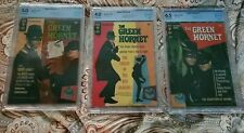 (3) THE GREEN HORNET ,# 1,2,AND 3.( CBCS 5.0,4.0,6.5.