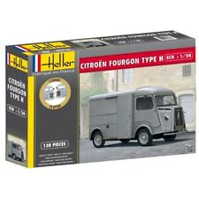 "Heller 80768 1:24th Classis Citroen Fourgon Van ""HY"" with choice of front grills"