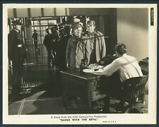 Dance With The Devil '40 TOM DUGAN EDWARD ARNOLD PRISON Johnny Apollo