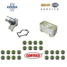 For Porsche Boxter Engine Oil Cooler & Thermostat w/ Cover Gasket & Seals OEM
