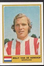 Football Sticker - Panini Euro Football 1976 - No 203 - Willy Van De Kerkhof