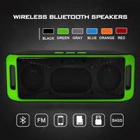 Portable Bluetooth 4.1 Wireless Speaker TF USB FM Radio Stereo Bass Sound Box