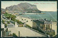 Palermo Città Monte Pellegrino cartolina XB2904