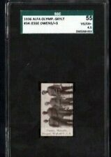 1936 JESSIE OWENS ROOKIE SGC 55 + 3 USA ALFA OLYMPICS SKYLIGHT # 34
