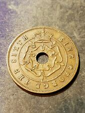 Southern Rhodesia Coin , 1 Penny 1951 , George VI , KM# 26 #3