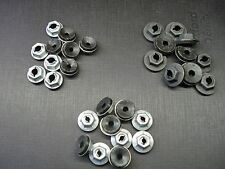30 pc thread cutting emblem name plate script nuts with sealer assortment GM GMC