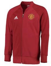 Adidas Manchester United Men's Soccer Anthem Track Jacket Jersey Large L Man U