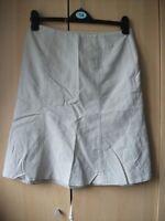 Ladies Next cream skirt size 10