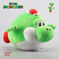 "New Super Mario Bros. 10"" GREEN YOSHI Ball Plush Toy Soft Doll Teddy Kids Gift"