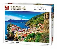 King Vernazza, Italy Jigsaw Puzzle (1000 Pieces)