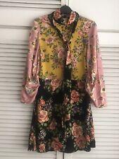 Zara Patchwork Dress Size XS