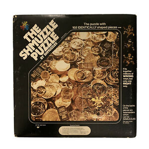 The Shmuzzle Puzzle 1980 Gold Coins The Puzzle With 168 Identically Shape Pieces