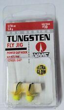 VMC Pro Series Tungsten Fly Jigs - 1/16oz Size 14 Hook - 1 pack of 2 - #TFJ116