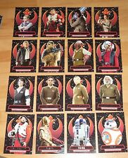 Topps Star Wars - The Force Awakens Series 2 - Heroes of the Resistance Set (16)
