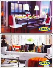 2x IKEA LIVING ROOM DECORATION COLORFUL CUSHIONS RARE COLLECTIBLE GIFT CARD LOT