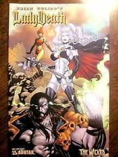 Brian Pulido's Lady Death Wicked #1 (Avatar, 2005) Adrian Cover (Nm, 9.4)