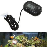 Digital LCD Thermometer for Aquarium Fish Tank Vivarium Reptile Terrarium