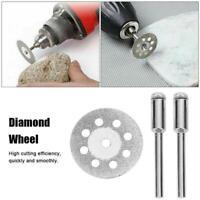 10PCS Diamond Cutting Wheel Saw Blades Cut Off Discs Set for Rotary Tools Supply
