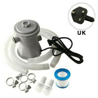 300GAL Electric Swimming Pool Filter Pump For Above Ground Pools Cleaning Tool