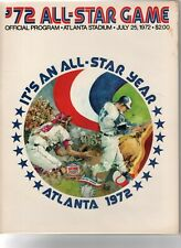 1972 Baseball All-Star Game Program, Atlanta Stadium